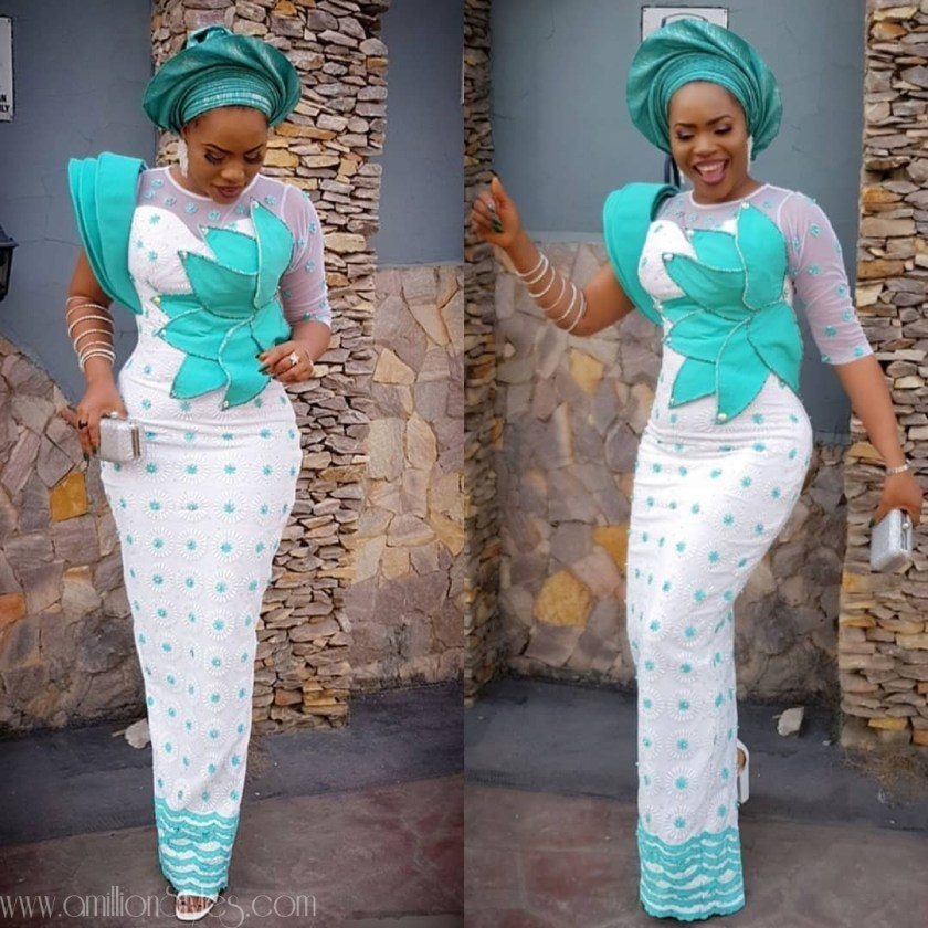 Latest Lace Asoebi Styles Volume 13  Check Out Fashionable And Classy Lace Asoebi Styles asoebi  ejiro88 amillionstyles