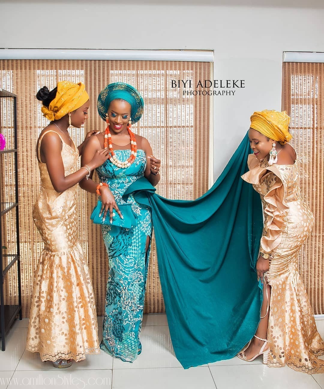 8 Nigerian Bridal Styles From Different Parts Of The Country