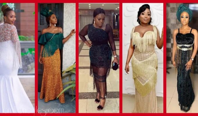 Fringe Asoebi Styles Lookbook 29