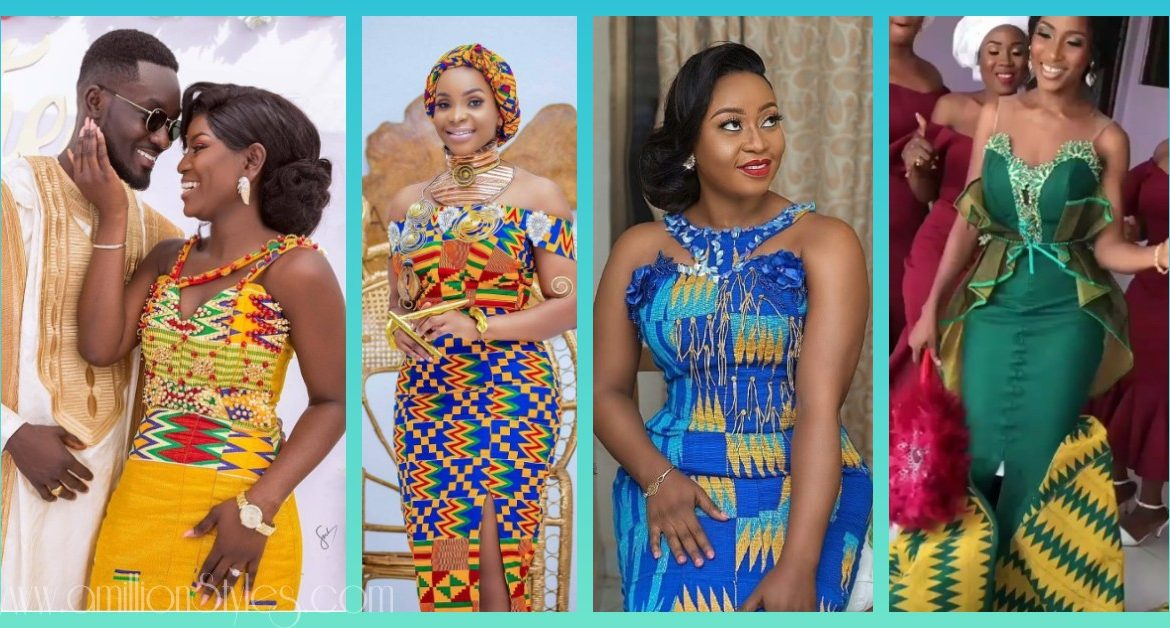 Bridal Kente Styles With Lots Of Swag!