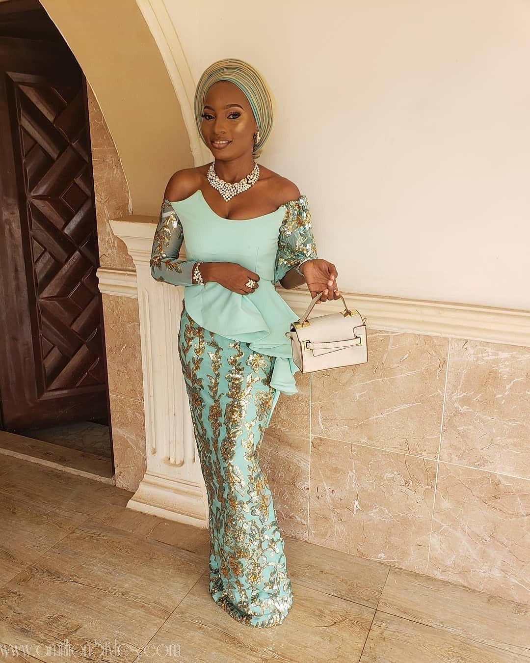 Latest Lace Asoebi Styles Volume 14