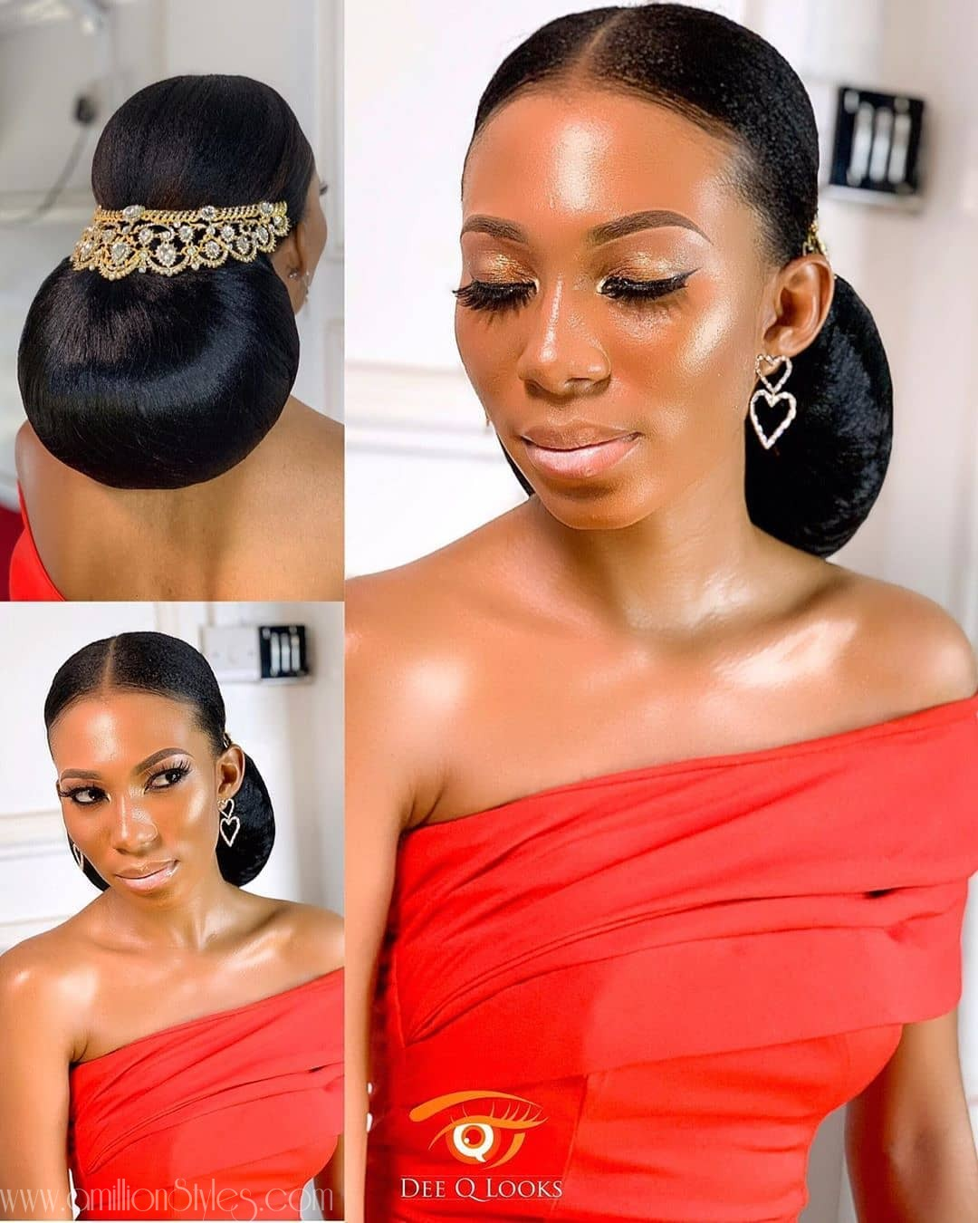 9 Sleek Bridal Hairstyles