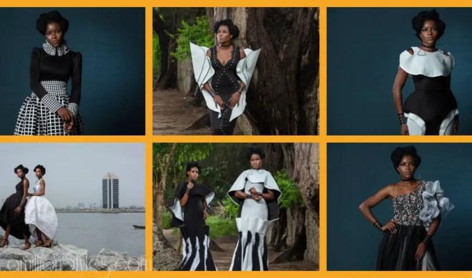Still On The Monochrome Trend With Nigerian Fashion Label Nonnistics
