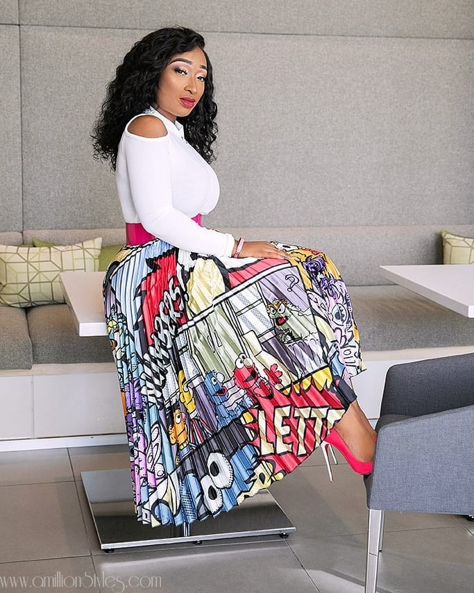 Get Inspiration On How To Style Pleated Skirts From These Fashionistas