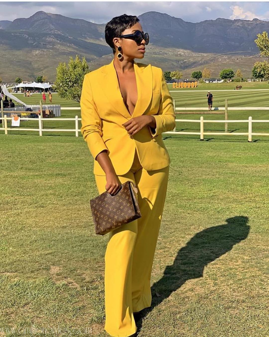 Fashionable Suits Worn By Women At The 2019 Veuve Clicquot Masters Polo
