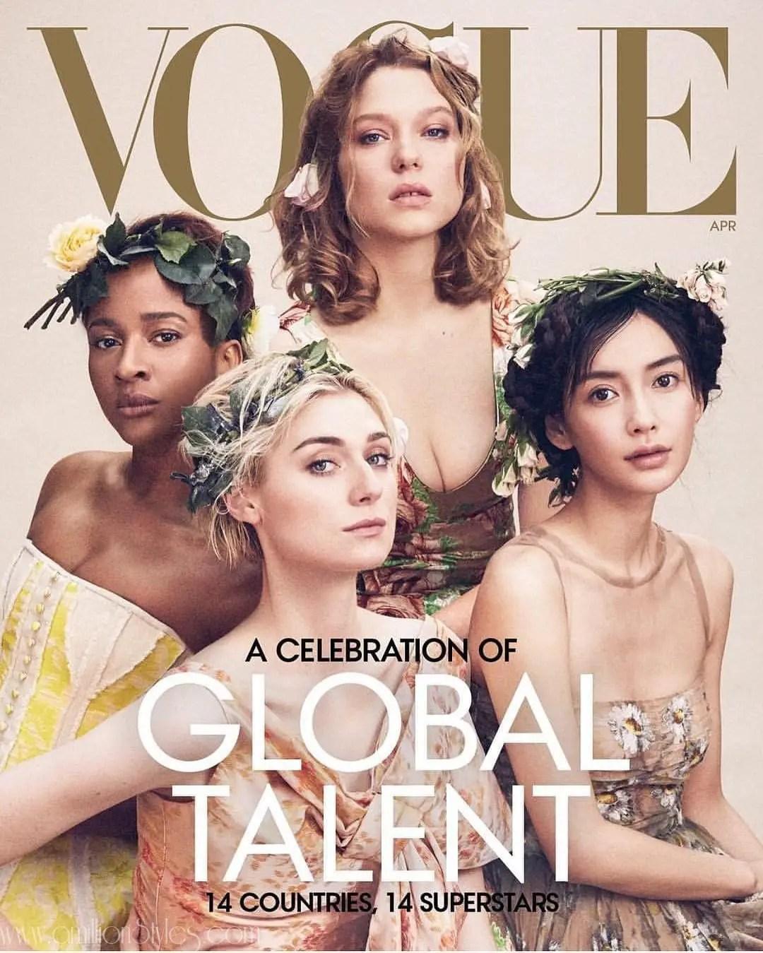 Actress, Adesua Etomi-Wellington Graces The Cover Of American Vogue