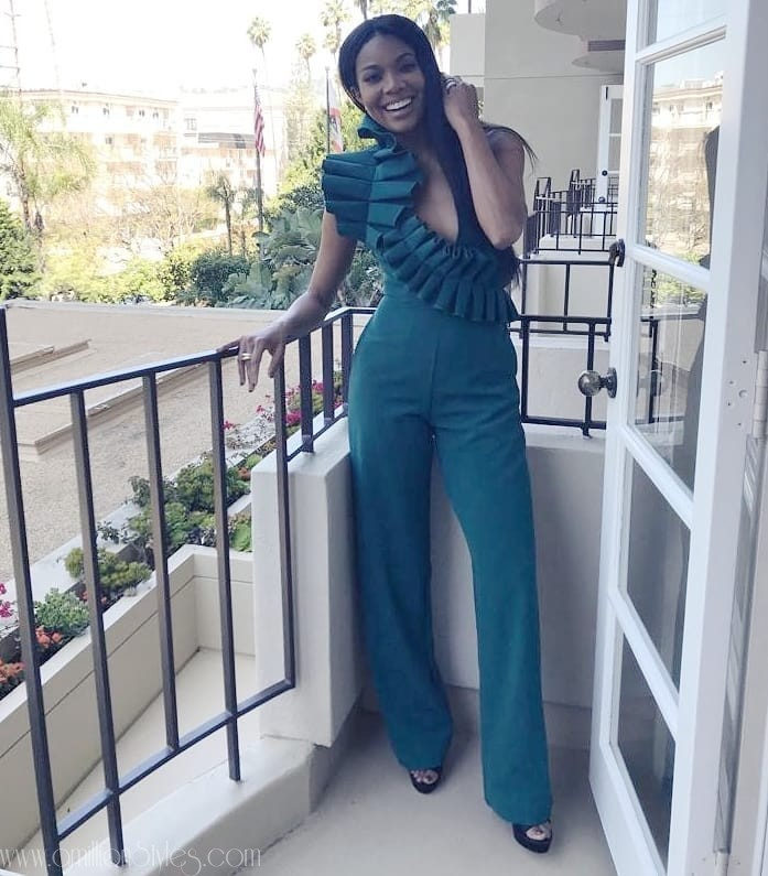 Nigeria To The World! Gabrielle Union In Andrea Iyamah