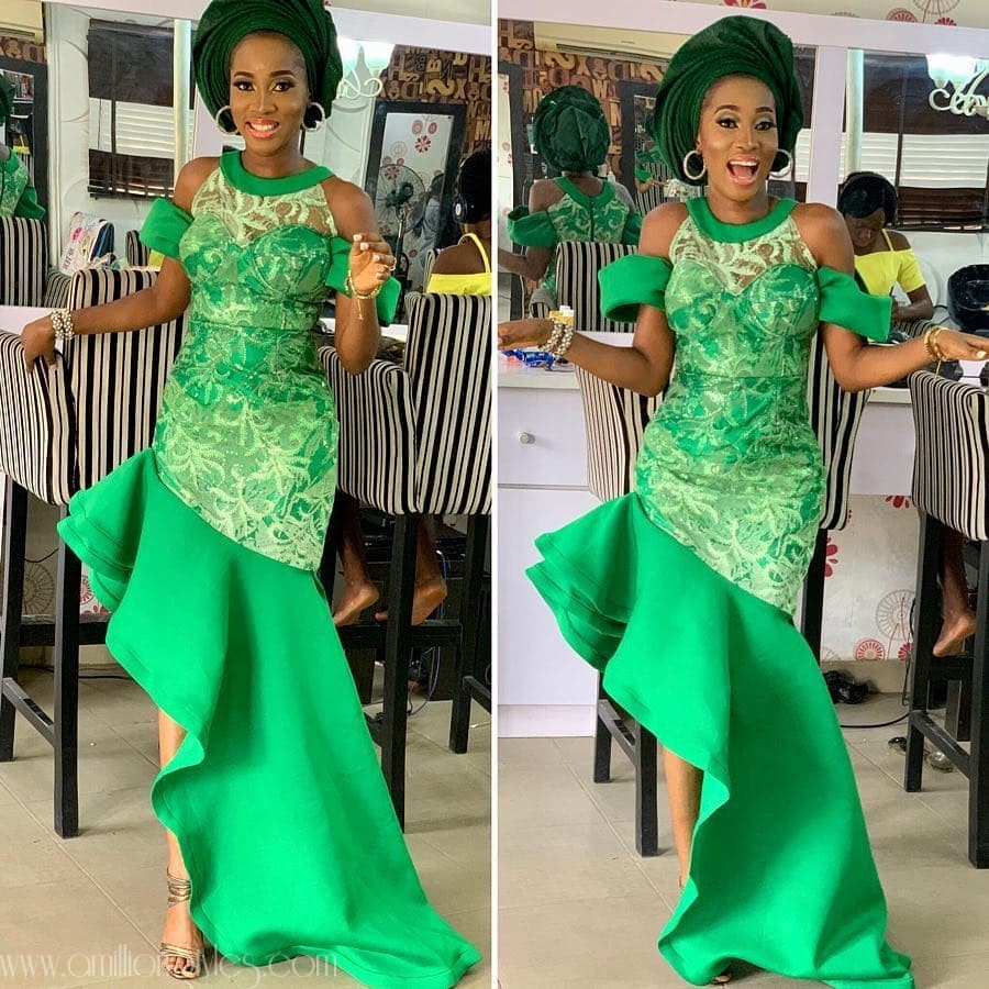 Latest Lace Asoebi Styles Volume 32