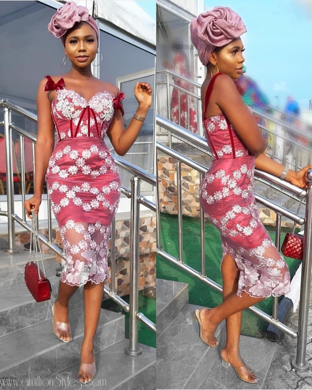 Latest Lace Asoebi Styles Volume 27