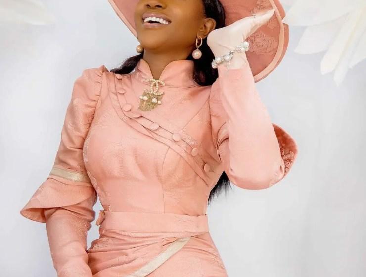 Omoni Oboli Celebrates 41st Birthday With High Fashion Photoshoot
