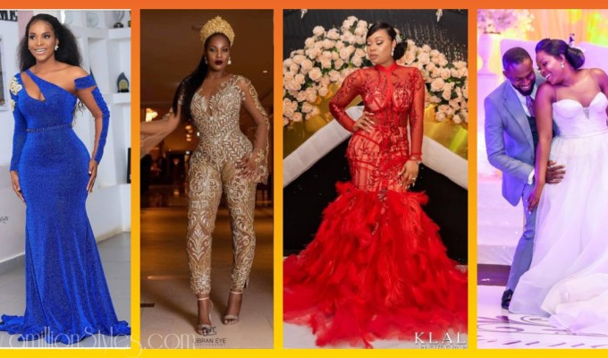 8 Lit Wedding Reception Outfits For Brides