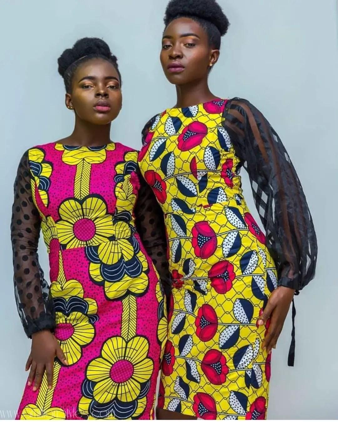 Simple Sensational Ankara Styles From Kodiateliers
