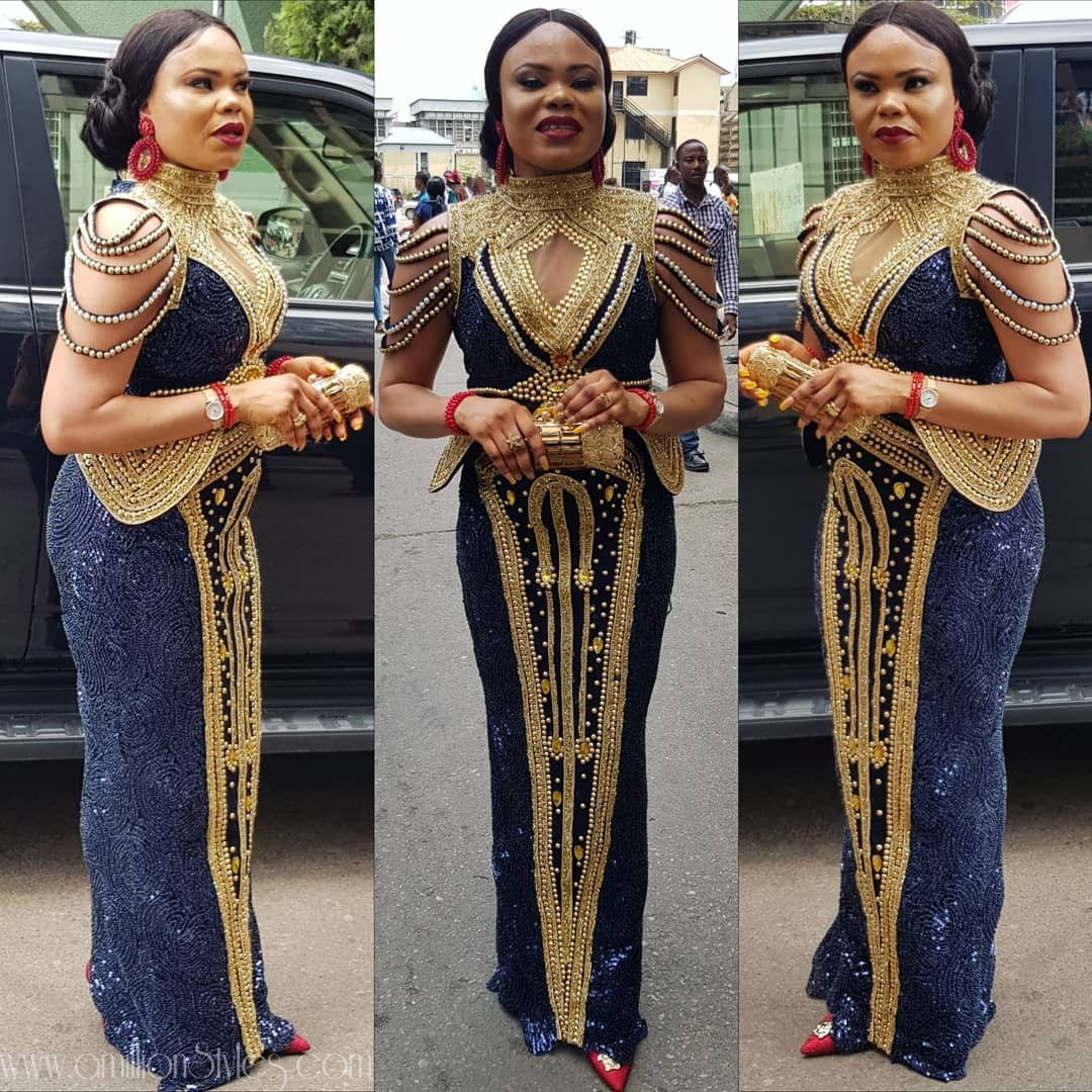 Latest Lace Asoebi Styles Volume 37