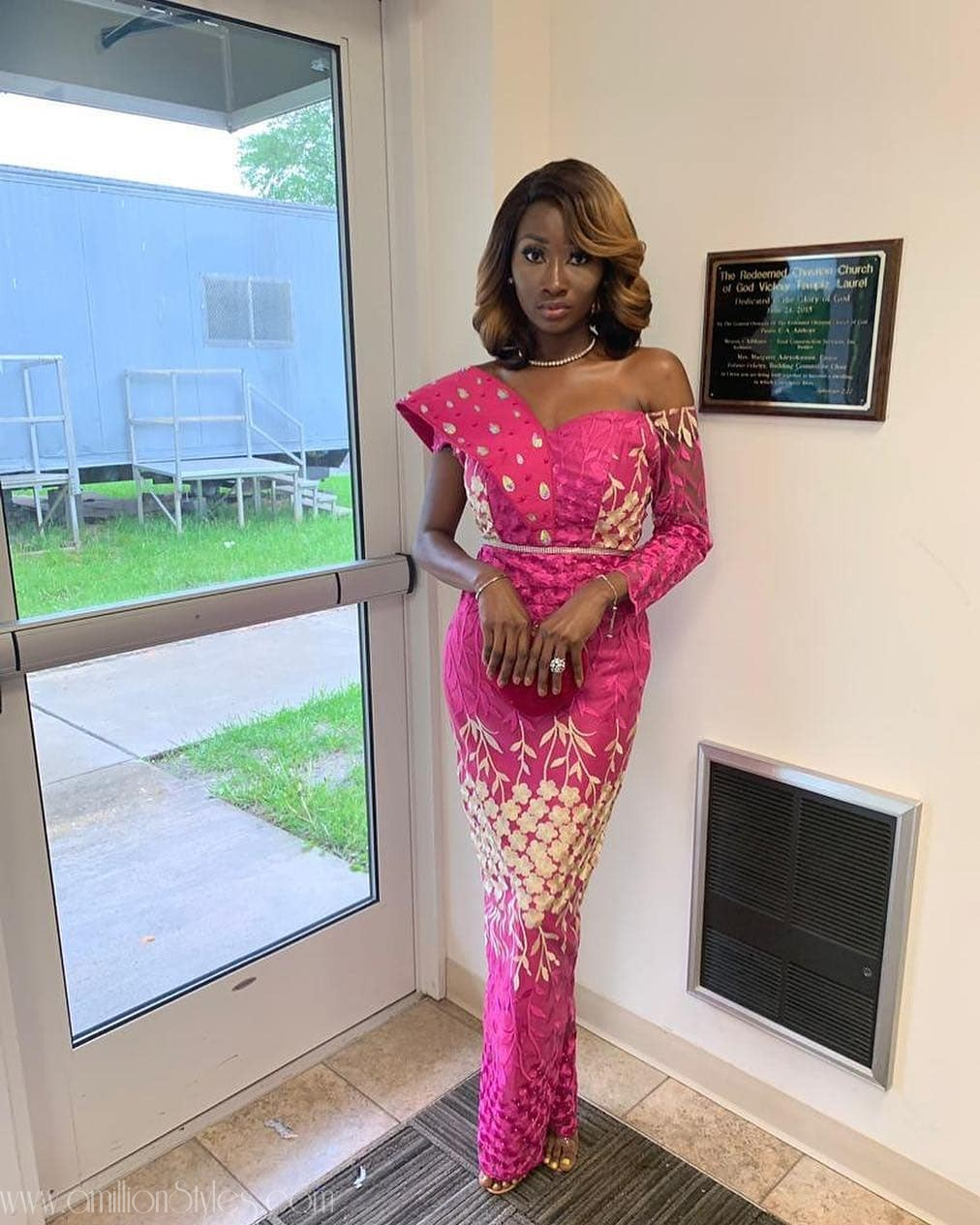 Latest Lace Asoebi Styles Volume 39
