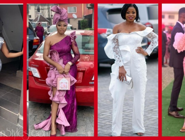 Latest Lace Asoebi Styles Volume 34