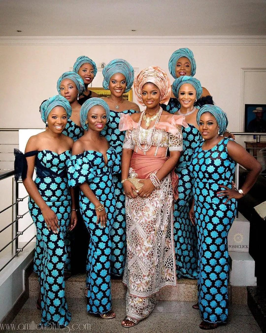 Asoebi Bella: Friends That Slay Asoebi Styles Together