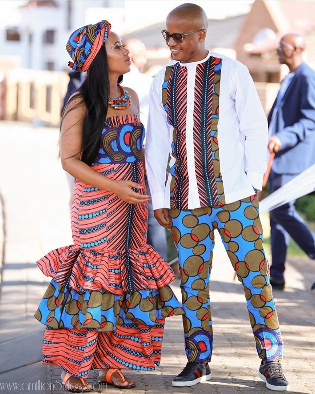 Just Because Twinning Couples Can Look Stylish Too