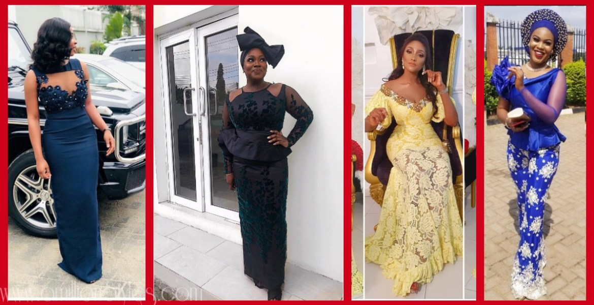 Latest Nigerian Lace Styles and Designs-Volume 4