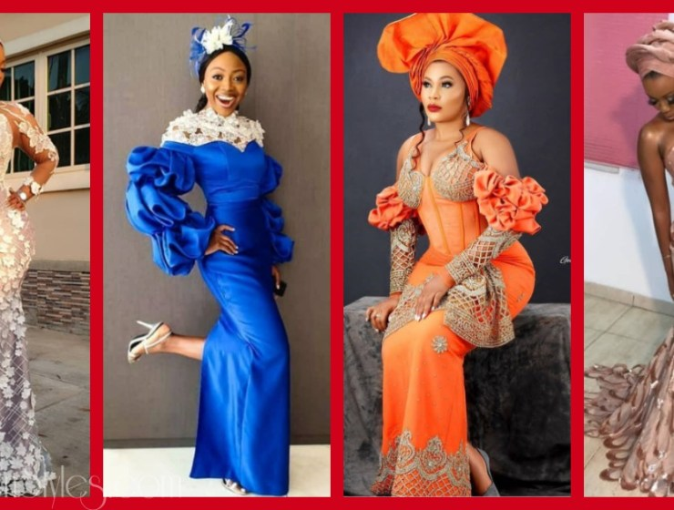 Latest Nigerian Lace Styles and Designs-Volume 3