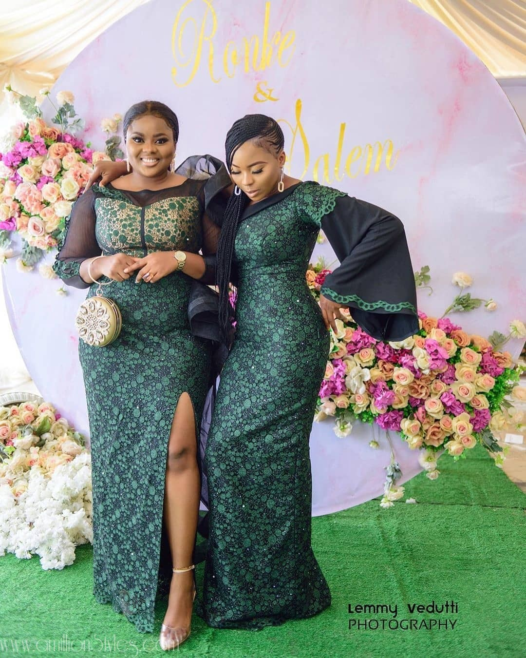 Latest Nigerian Lace Styles and Designs-Volume 13