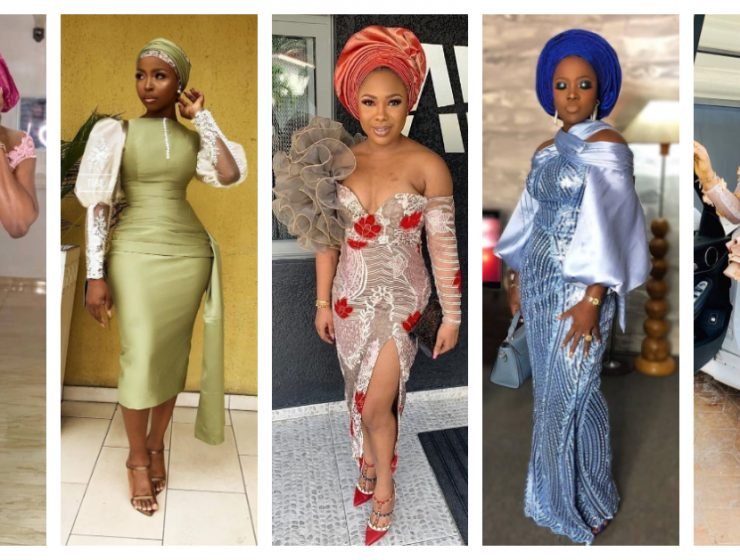 Latest Nigerian Lace Styles and Designs-Volume 14