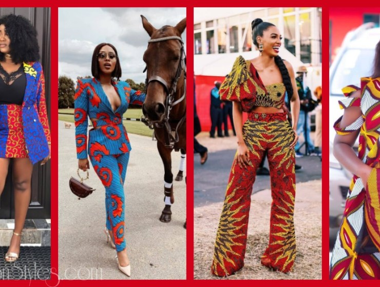 Rock These Fab Ankara Two-Piece Showpieces Styles