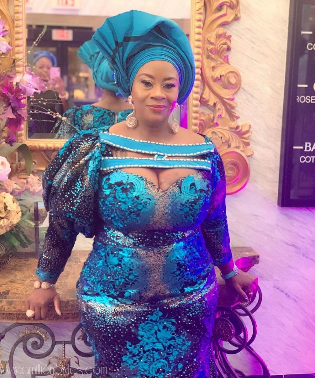 Exclusive Lace Asoebi Styles Volume 52