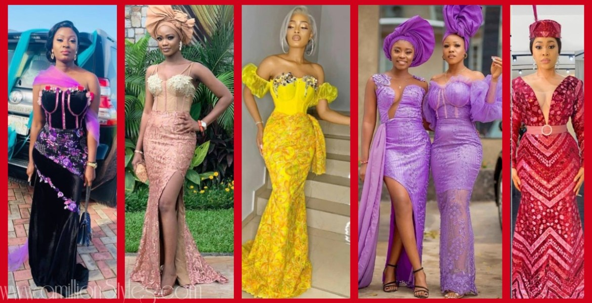 Latest Nigerian Lace Styles and Designs-Volume 18