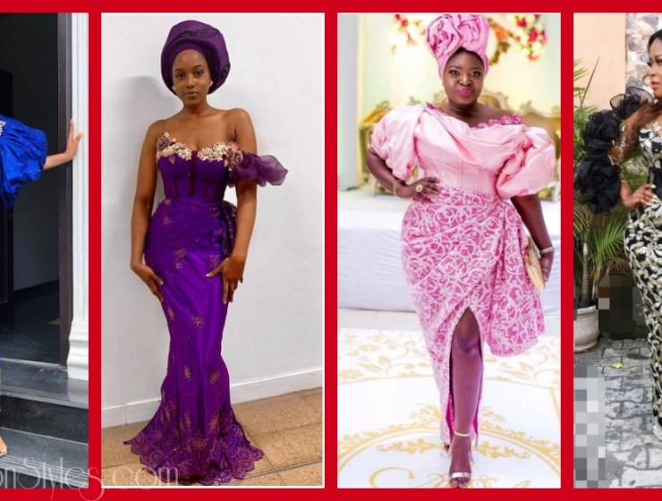 Latest Nigerian Lace Styles and Designs-Volume 16