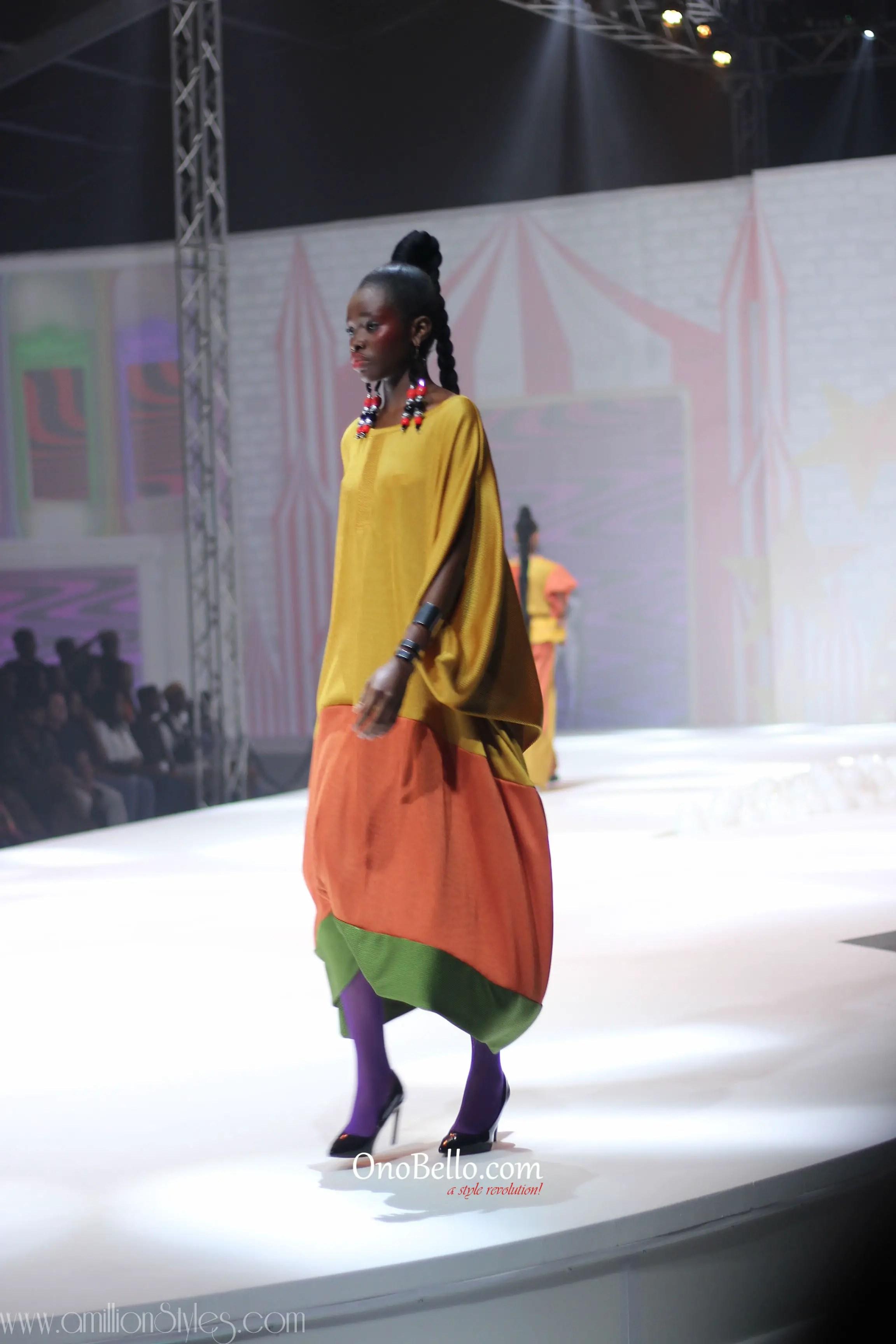GTBank Fashion Weekend Day 1 Runway Fashion-Mantsho