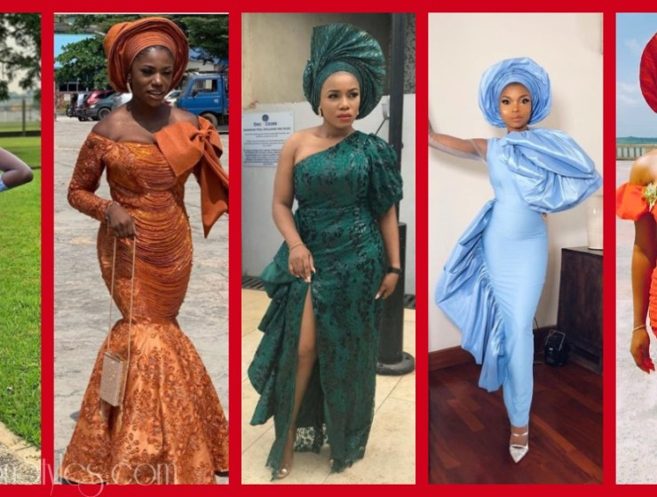 Latest Nigerian Lace Styles and Designs-Volume 22