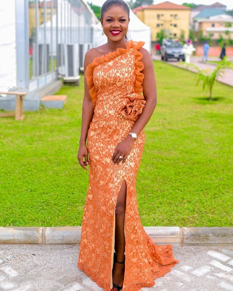 Latest Nigerian Lace Styles and Designs-Volume 21