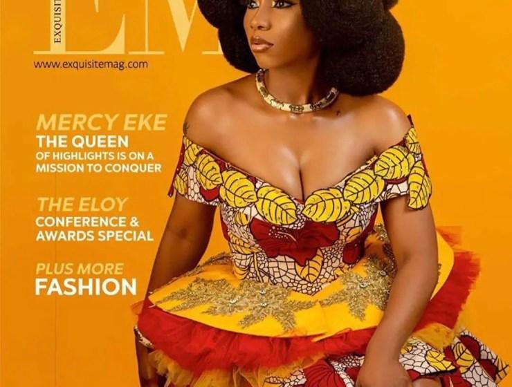 BBNaija Winner, Mercy Eke Graces The Front Cover Of Exquisite Magazine