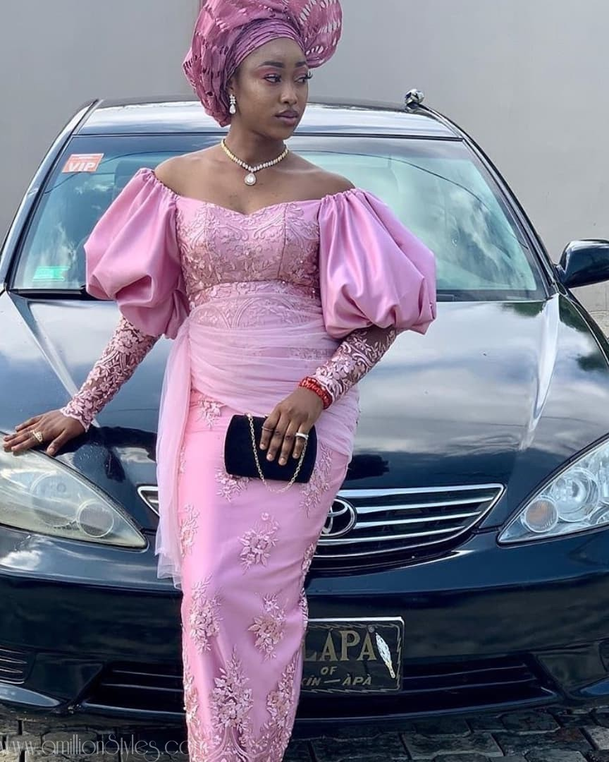 Asoebi Style Trends Of 2019: Leg Of Mutton Sleeves