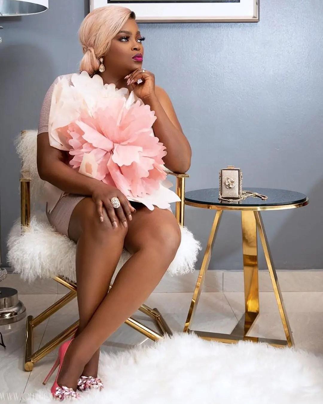 Who Wore This Tulle Dress Better? Ozinna Or Funke Akindele