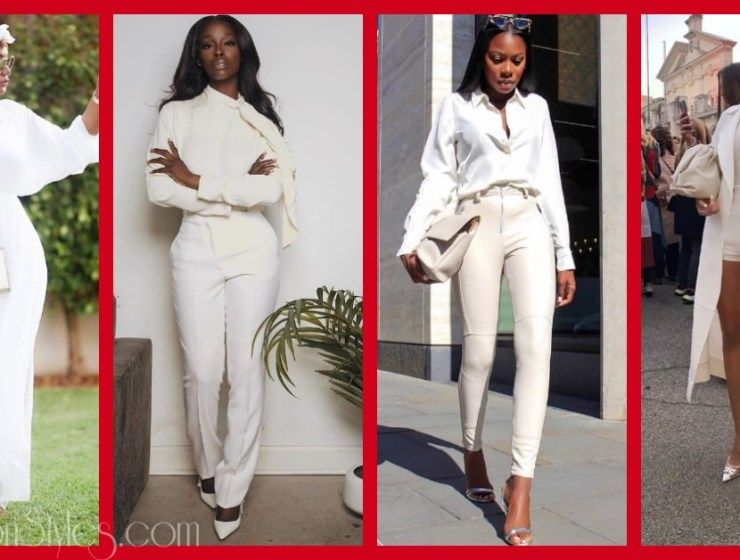 10 Ways To Wear An All-White Outfit