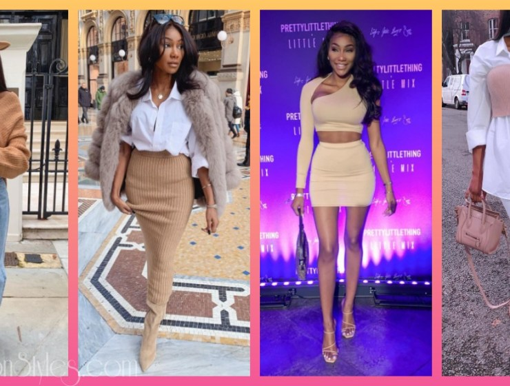 Charlotte Kamale Shows 10 Ways To Wear Nude Styles