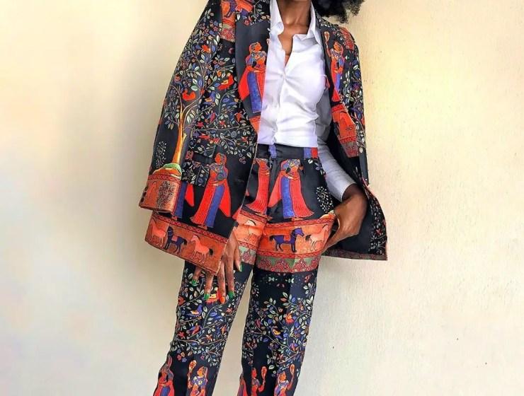 Lala Akindoju Is A Dream In WildKulture Batik Suit