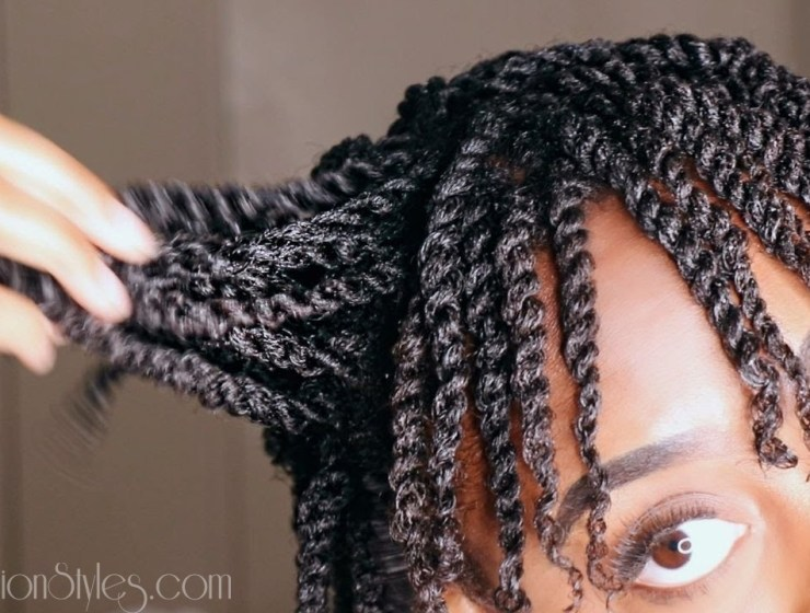 Tutorial: How To Twist Your Natural Hair Properly