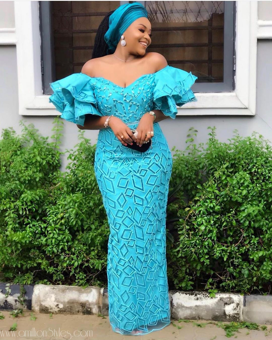 Latest Nigerian Lace Styles and Designs-Volume 33