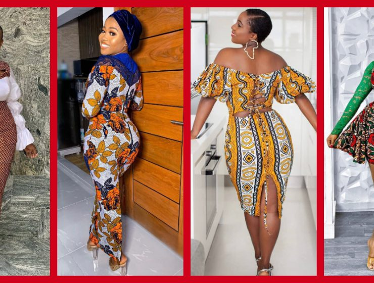 Start Off Your Week In These 8 Scintillating Ankara Gowns