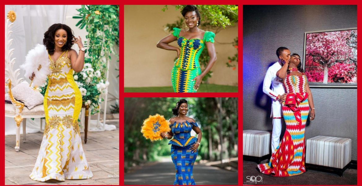 8 Gorgeous Kente Styles For Tuesday!
