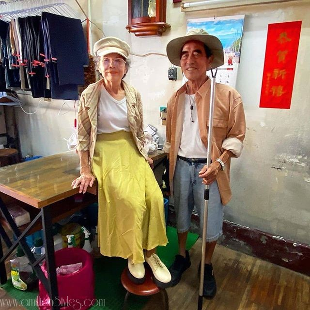 Old Taiwanese Couple Become Viral Fashion Influencers