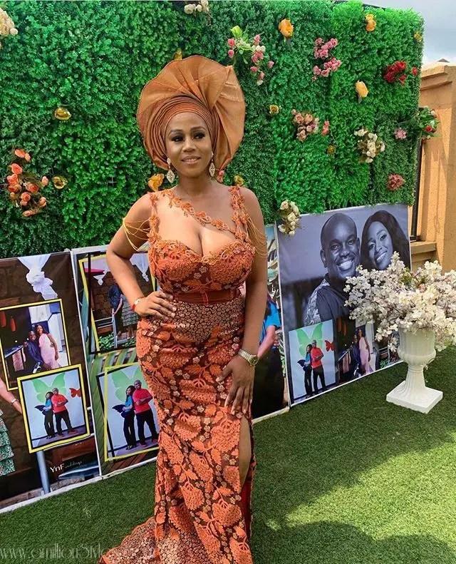 Exquisite Nigerian Lace Asoebi Styles-Volume 8