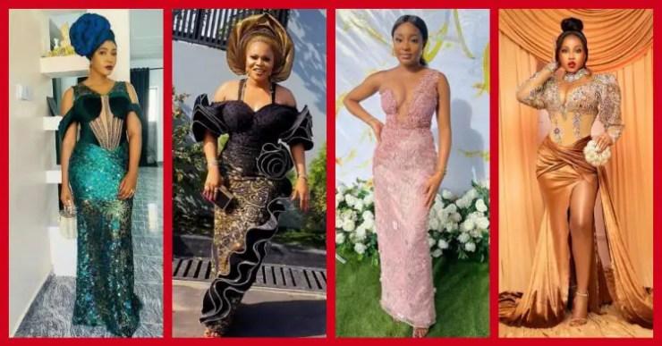Exquisite Nigerian Lace Asoebi Styles-Volume 28