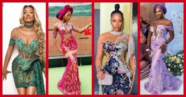 Exquisite Nigerian Lace Asoebi Styles-Volume 29