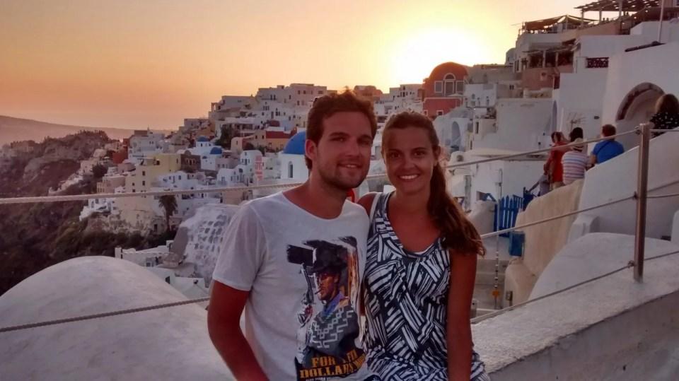 La nostra estate nella splendida Santorini.