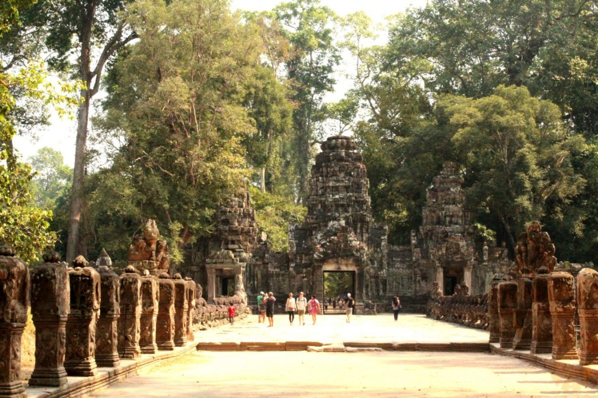Angkor site how to visit