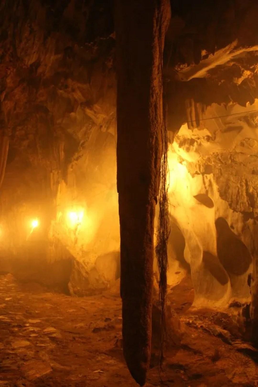 Cave in Kim mountain