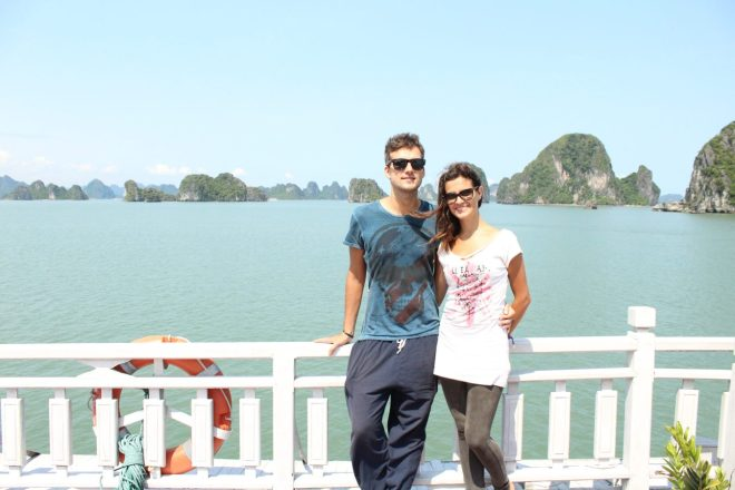 Hanoi to Halong Bay cruise